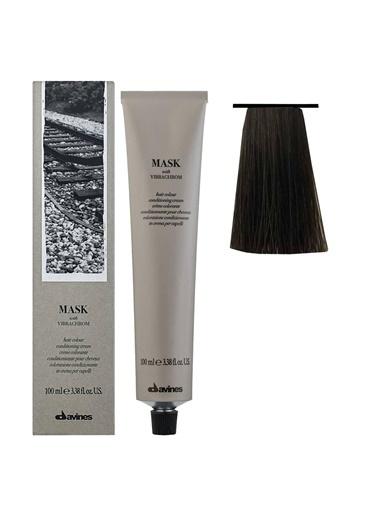 Davines Davines Mask Vibrachrom Saç Boyası 5,14 Açık Kahve Küllü Bakır 100 Ml Renksiz